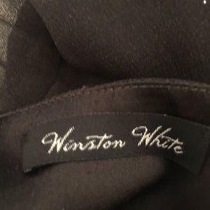 Winston White Shorts - Winston White Romper Jumper Floral  Long Sleeve
